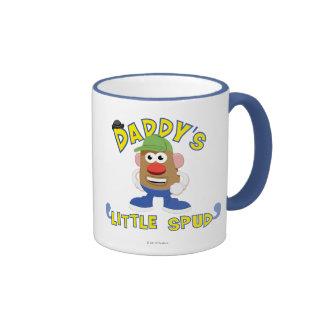 Daddy's Little Spud Ringer Coffee Mug