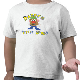 Daddy's Little Spud Tee Shirt