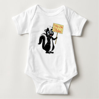 Daddy's Little Stinker Baby Bodysuit