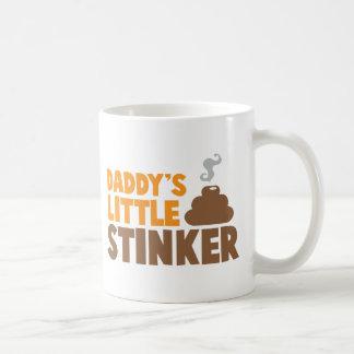Daddy's little STINKER with cute poo Coffee Mug