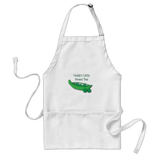 Daddy's Little Sweet Pea Apron