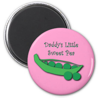 Daddy's Little Sweet Pea Magnet