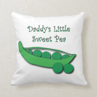 Daddy's Little Sweet Pea Pillow
