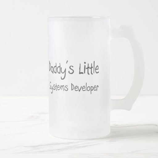 Daddy's Little Systems Developer Mugs