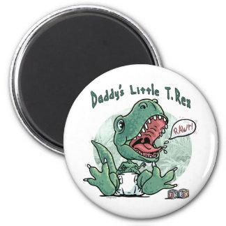 Daddy's Little T Rex Magnet