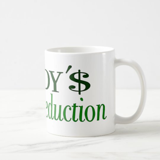 Daddy's little tax deduction coffee mug