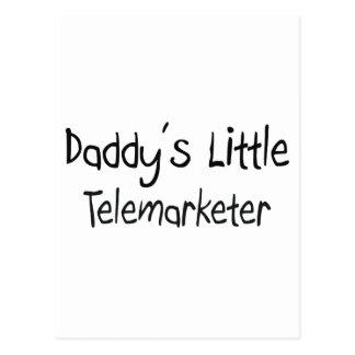 Daddy's Little Telemarketer Postcard