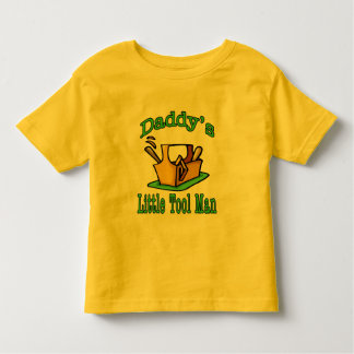 Daddy's Little Tool Man Toddler T-shirt