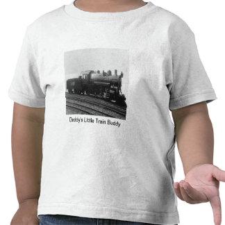 Daddy's Little Train Buddy Vintage Steam Engine T Shirts