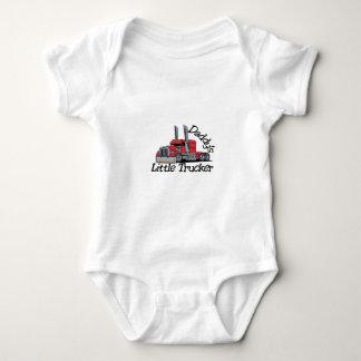 Daddys Little Trucker Baby Bodysuit