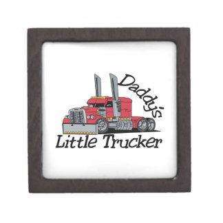 Daddys Little Trucker Gift Box