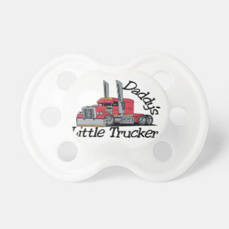 Daddys Little Trucker Pacifier