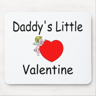 Daddy's Little Valentine Mouse Pad