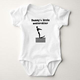 Daddy's Little Waterskier Baby Bodysuit