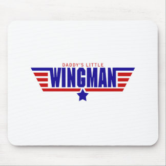 Daddys Little Wingman Mouse Pad