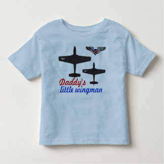 Daddy's little wingman tee shirts