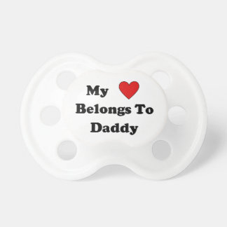Daddys Love Pacifier