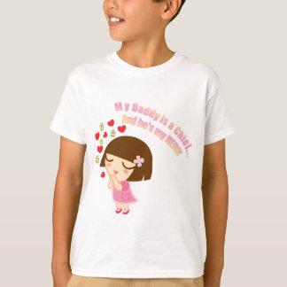 Daddy's My Hero (Chief) T-Shirt