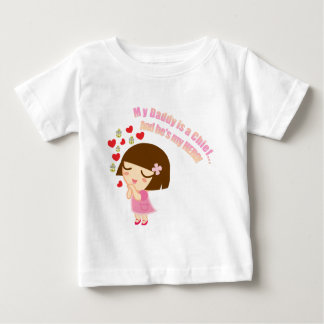 Daddy's My Hero (Chief) Tees