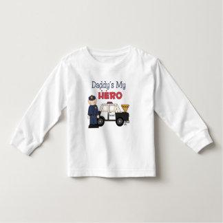 Daddy's My Hero Policeman Toddler T-shirt