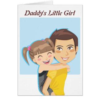 Daddy's Piggyback ride Card