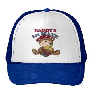 Daddy's Pirate 1st Mate Trucker Hat