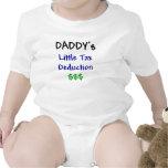 Daddys poca deducción fiscal traje de bebé