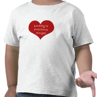 Daddys precious angel tee shirt