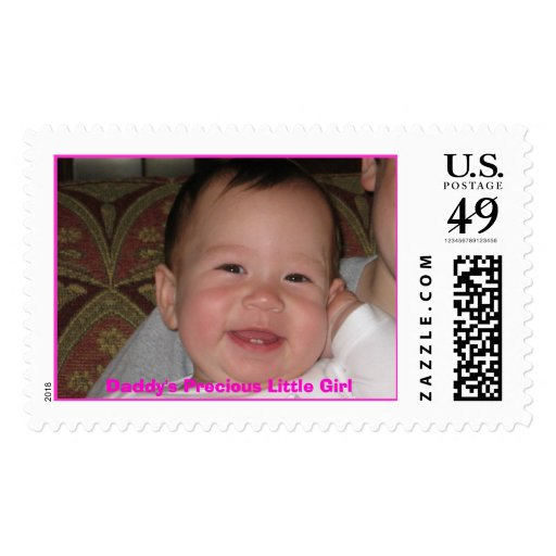 Daddy's Precious Little Girl Stamp