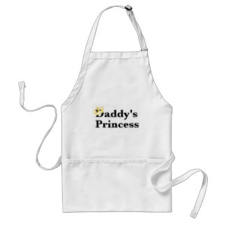 daddy's princess adult apron