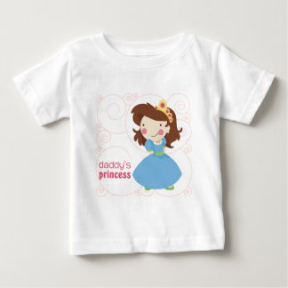 Daddy's Princess Baby T-Shirt