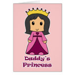 Daddy's Princess Greeting Card
