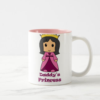 Daddy's Princess Two-Tone Coffee Mug