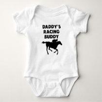 Daddy's Racing Buddy Baby Bodysuit