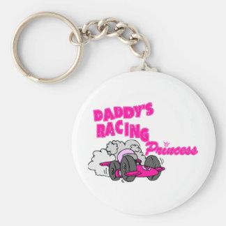 Daddy's Racing Princess Key Chains