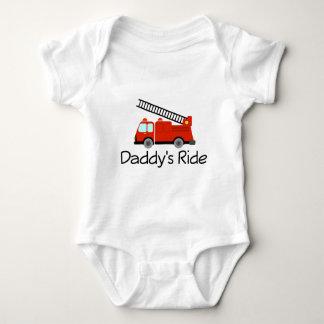 Daddy's Ride Baby Bodysuit
