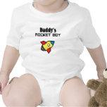 Daddy's Rocket Boy Baby Bodysuit