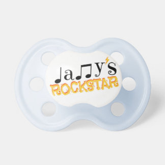 Daddy's Rockstar -  Yellow Edition Pacifier
