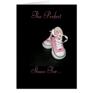 Daddy's Shoes Card