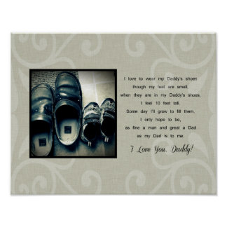 Daddy's Shoes Poster