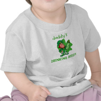 Daddy's St Pat's Drinking Buddy Tshirt