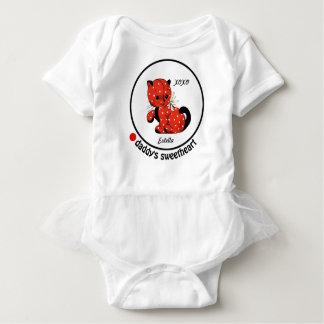 Daddy's Sweetheart. Baby Tutu Bodysuit