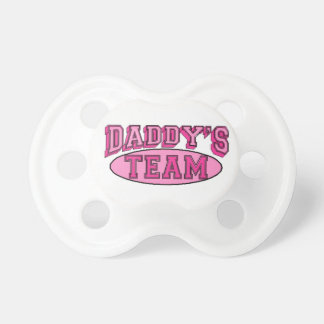 Daddy's Team Pacifier