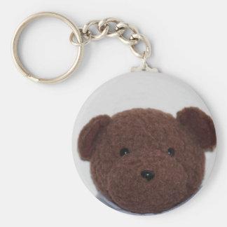 Daddys Teddy Bear Keychain