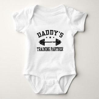 Daddy's Training Partner Baby Bodysuit
