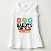 Daddy's Triathlon Cheer Team Dress