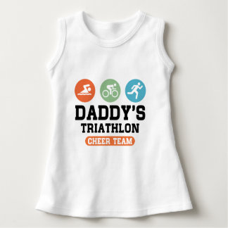 Daddy's Triathlon Cheer Team Dress