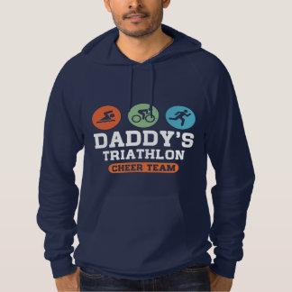 Daddy's Triathlon Cheer Team Hoodie