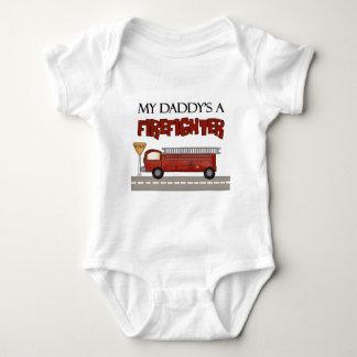 Daddys un bombero body para bebé