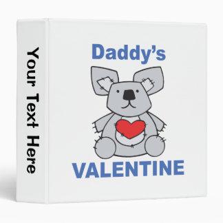 Daddy's Valentine Binder